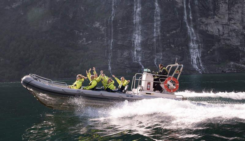 Рафтинг-сафари на надувном RIB boat