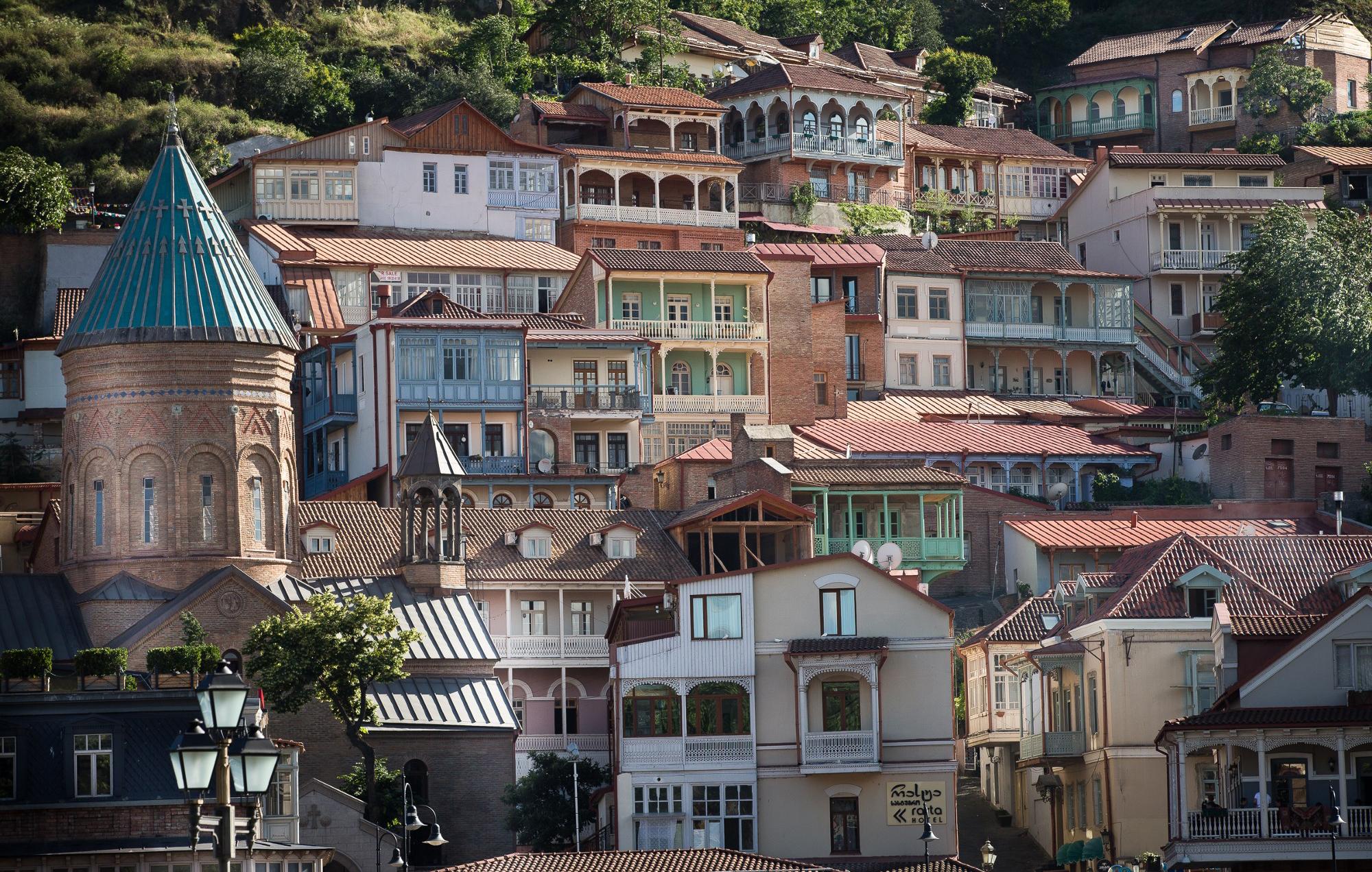 Район Сололаки в Тбилиси