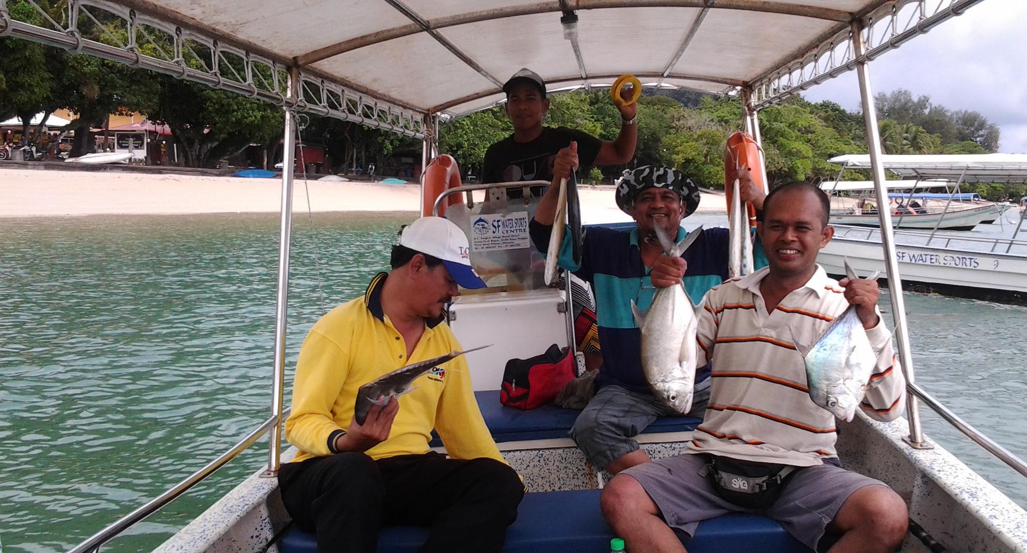 Рыбалка на острове Пангкор