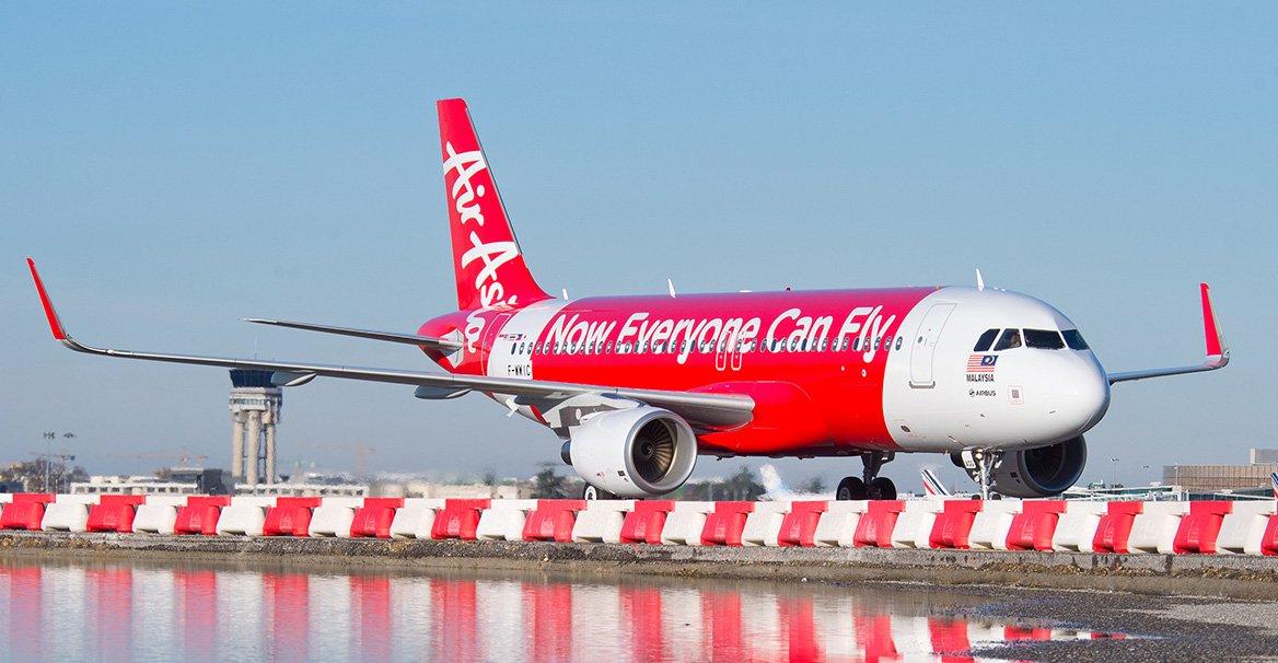 Самолет компании AirAsia