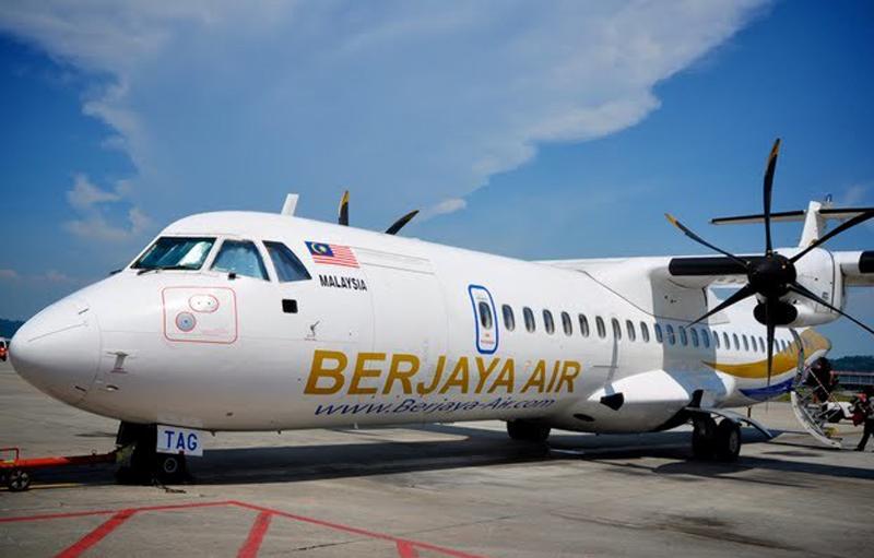 Самолет Berjaya Air