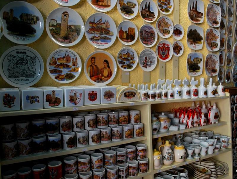 Сувенирная посуда из Черногории