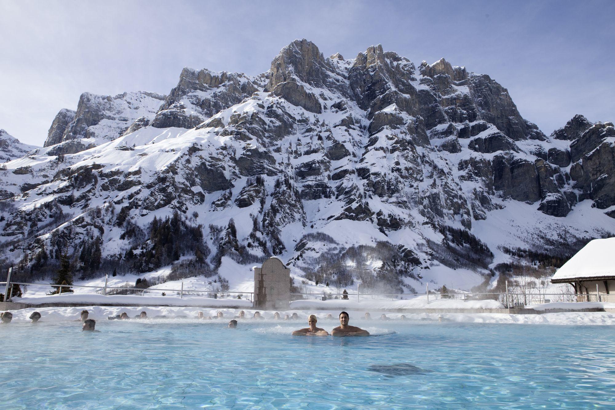 Лёйкербад - горнолыжный курорт Швейцарии с термальными источниками