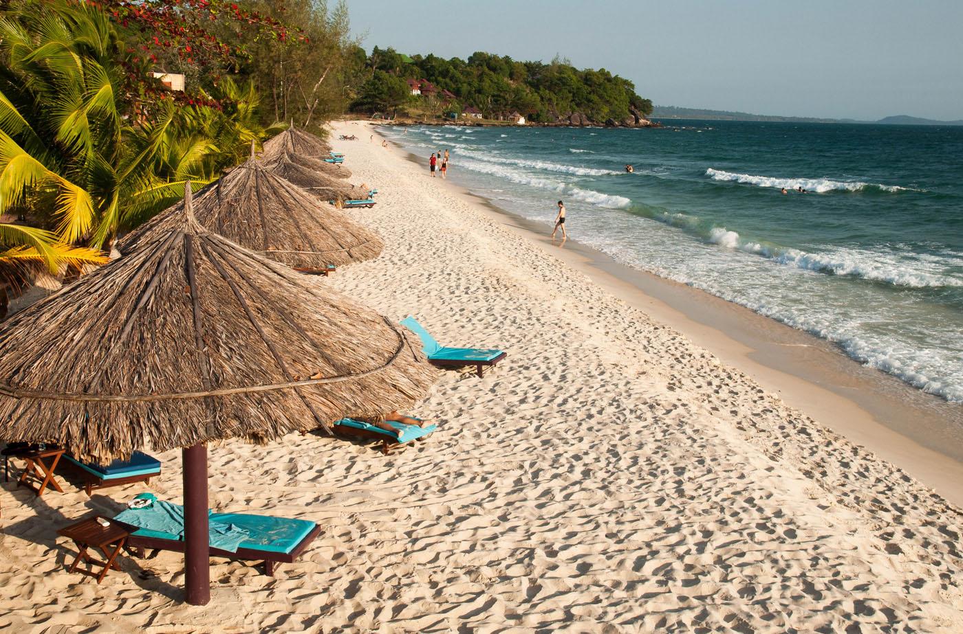 Пляжа Сокха в Сиануквиле