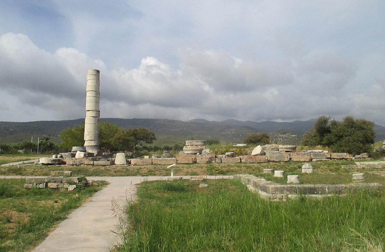 Храм Герейон на остраве Самос