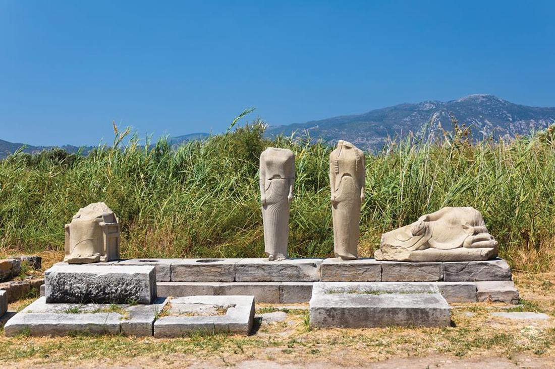 Руины храма Геры, Иреон, Самос