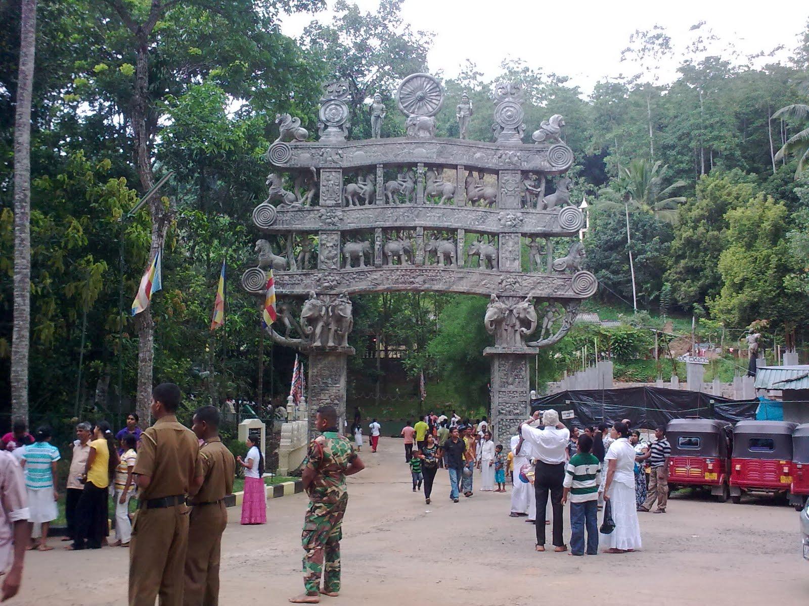 Храм Ranawana Purana Rajamaha Viharaya
