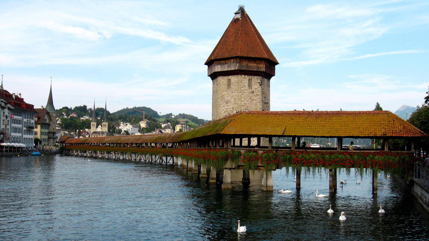 Часовенный мост, Люцерн
