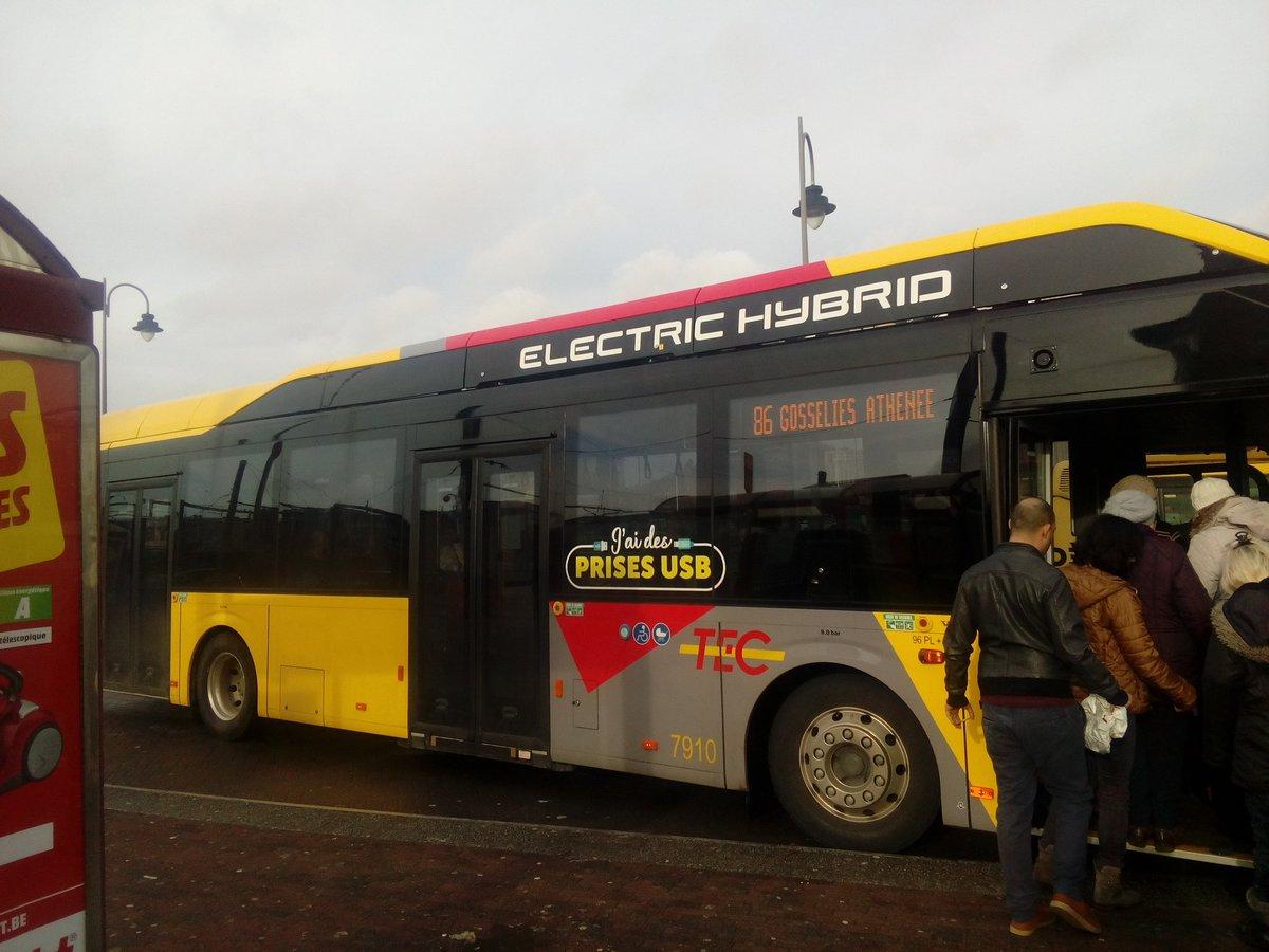 Пригородный автобус до Брюсселя