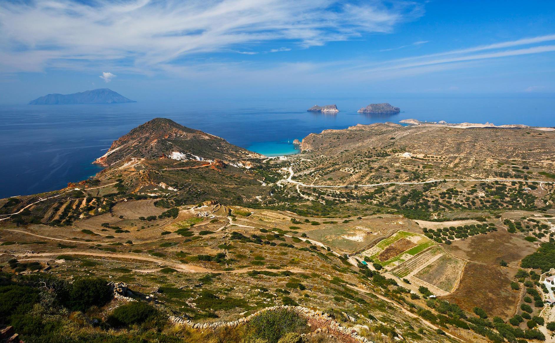 Географические особенности острова Милос