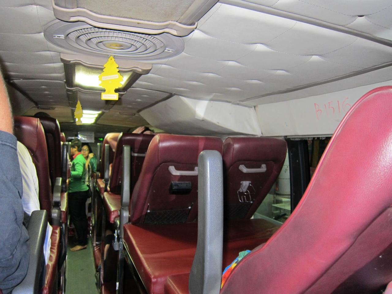 Ночной автобус Сием-Рип - Сиануквиль