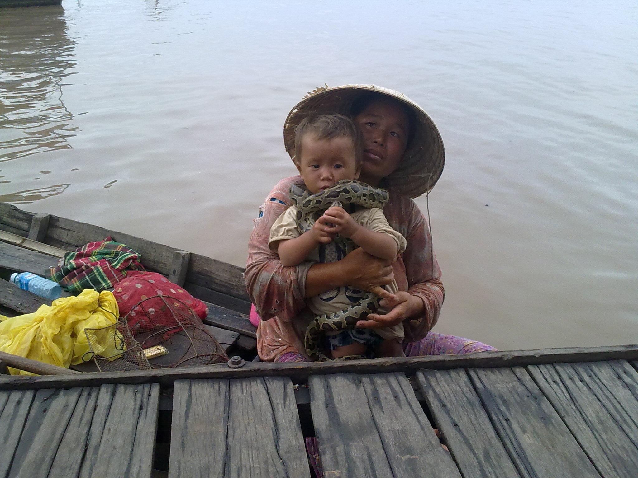 Вьетнамцы занимаются попрошайничеством