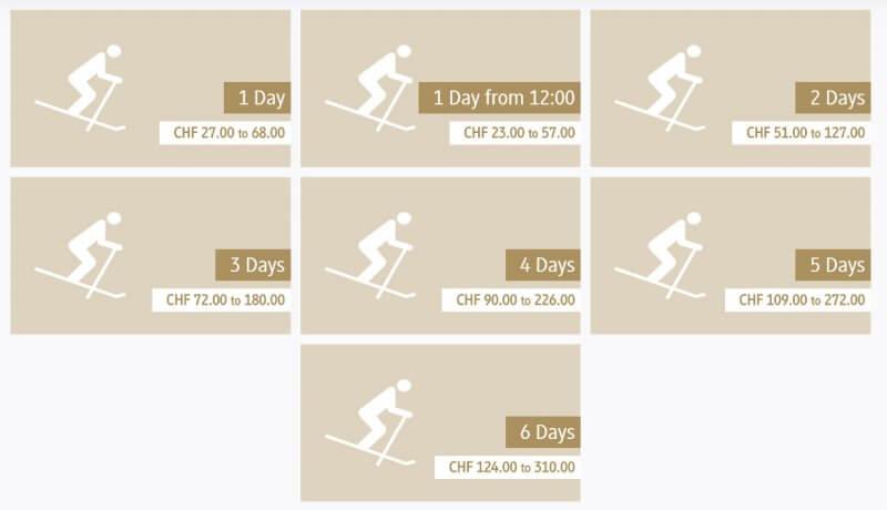 цены на ски-пасс в Энгельберге