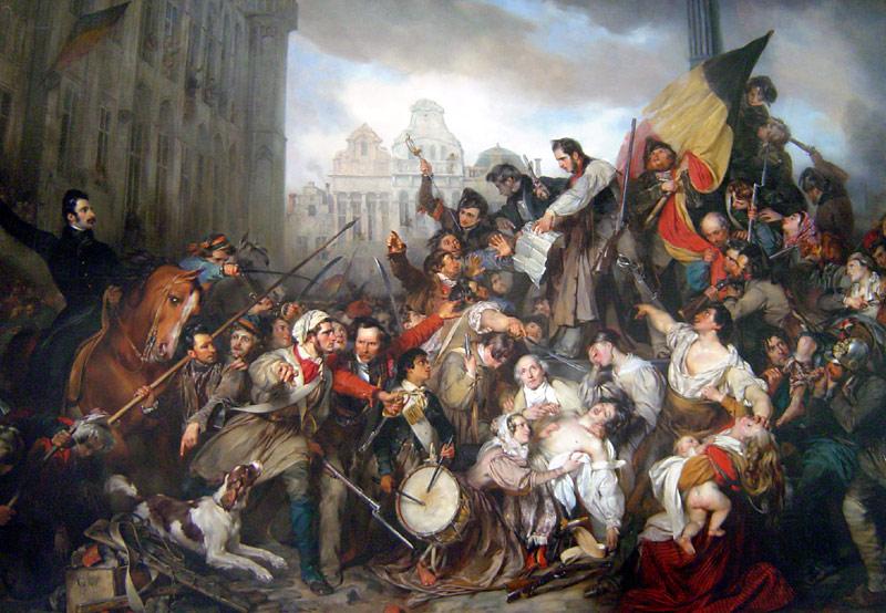 Картина Густава Вапперса, 1835 г