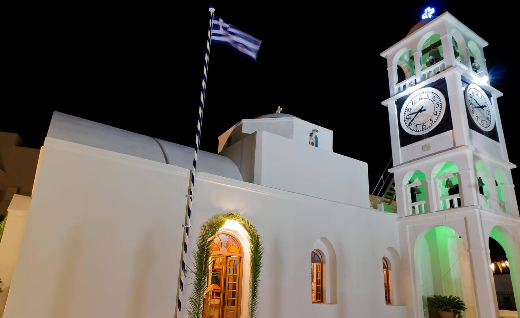 Церковь Агиос Спиридонас, о.Милос