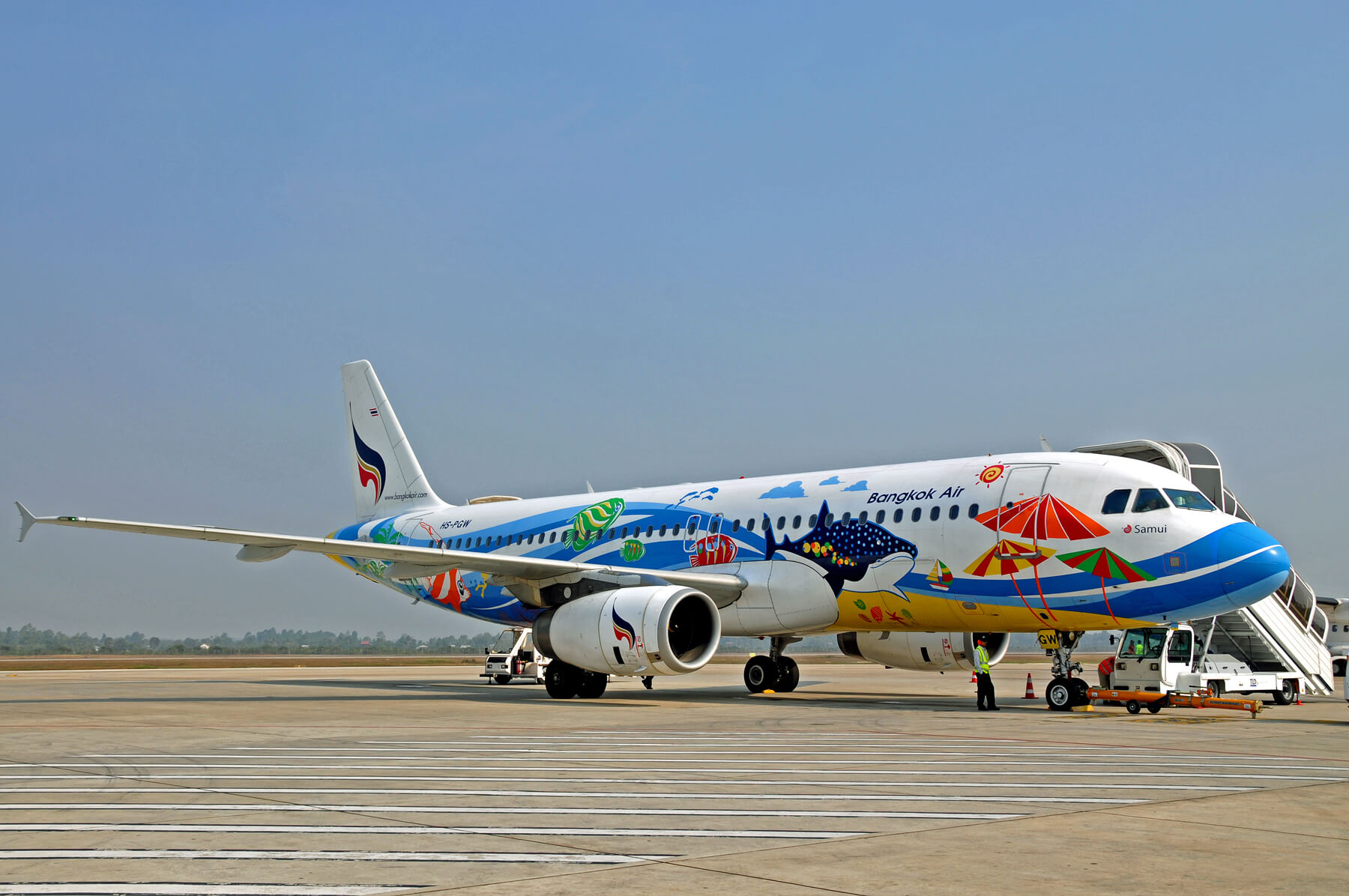 Перелет на самолете Bangkok Airways