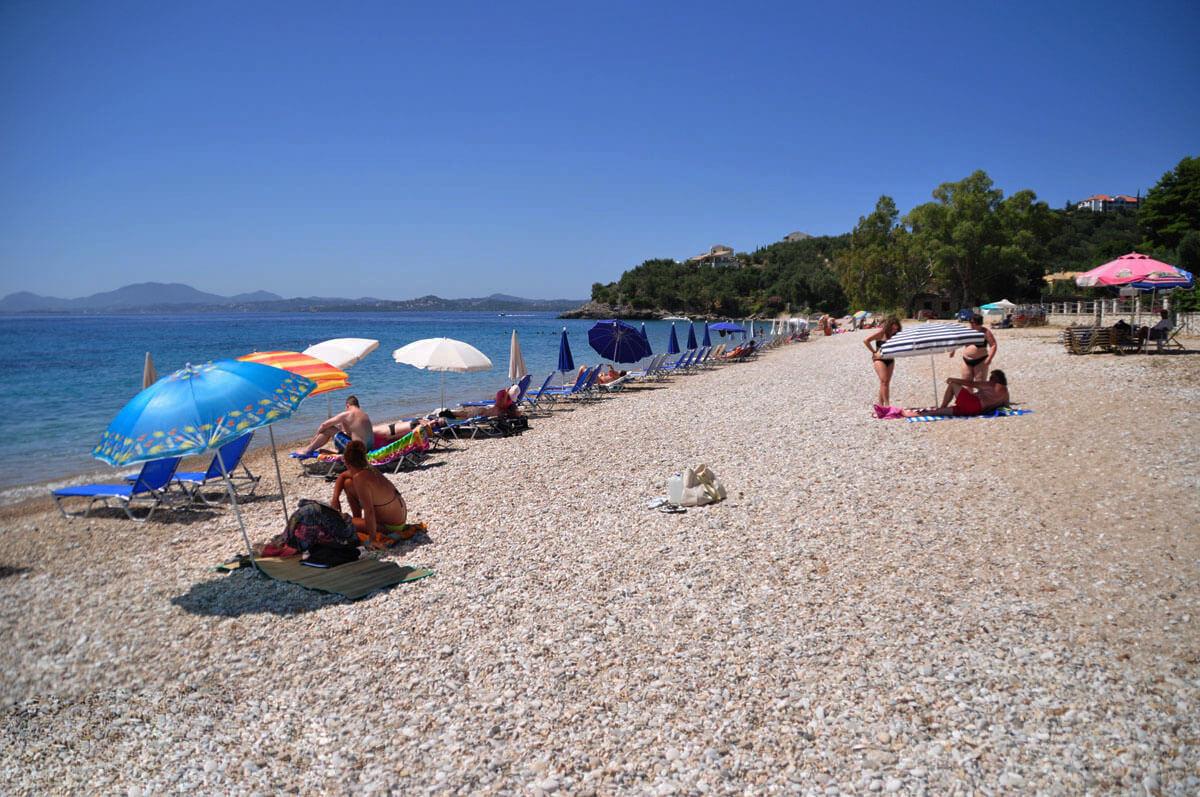 Пляж курорта Барбати