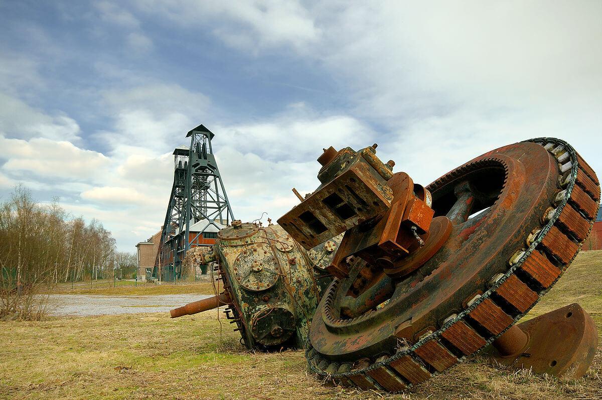 Бывшая угольная шахта Буа-дю-Казье