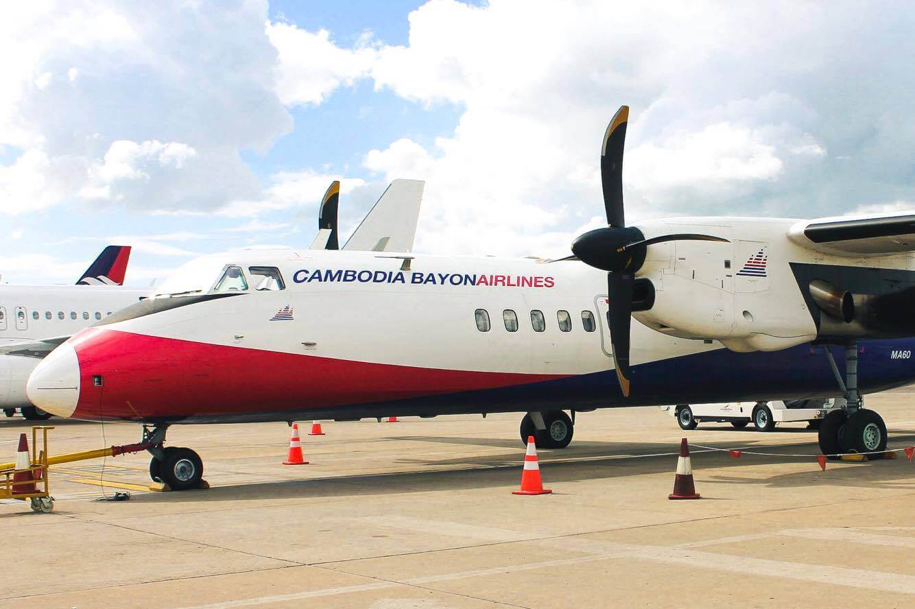 Самолет Cambodia Bayon Airlines