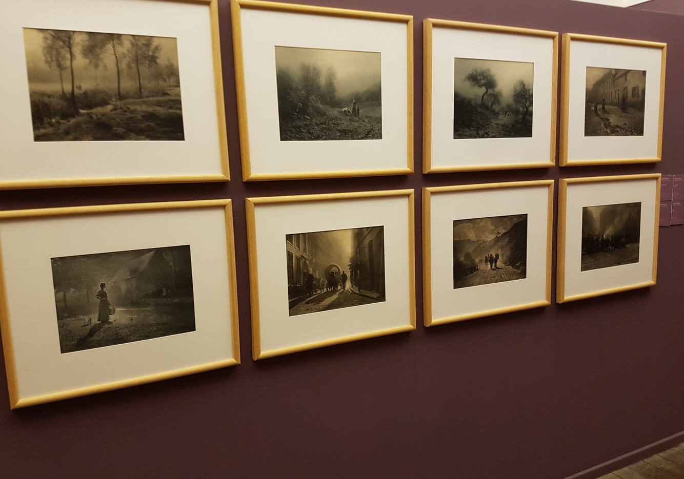 Снимки в музее фотографии