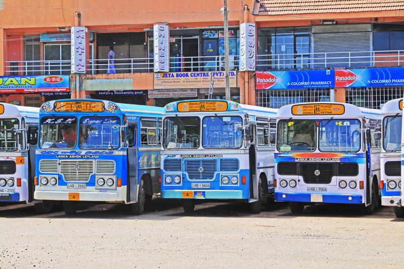 Автобус от автостанции Colombo Central