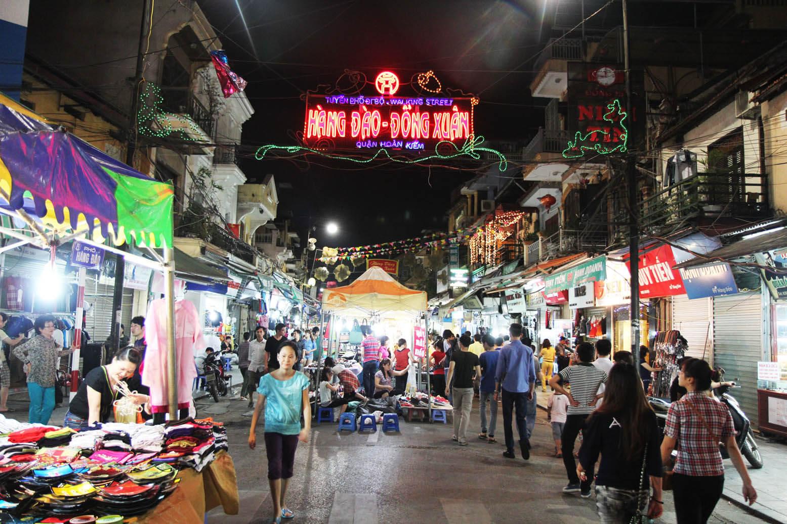 Ночной рынок, Ханой