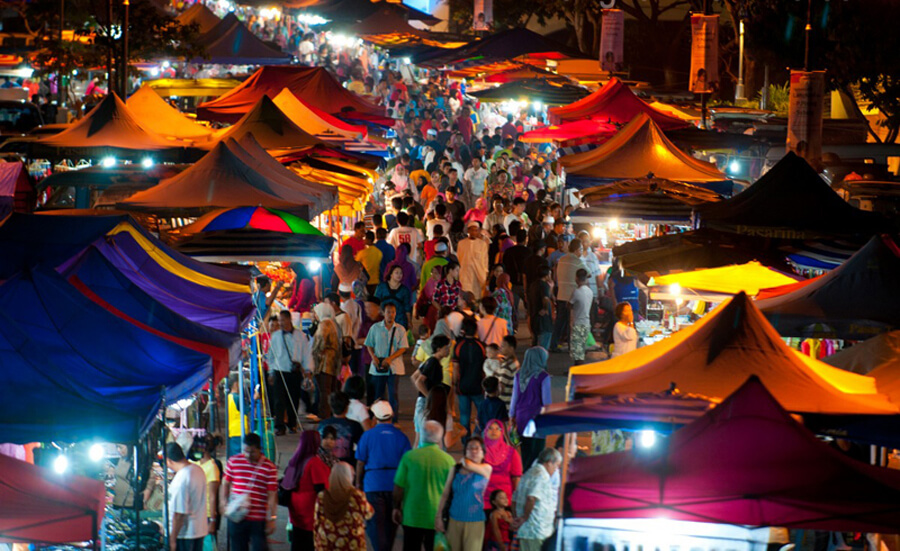 Ночной рынок Лангкави