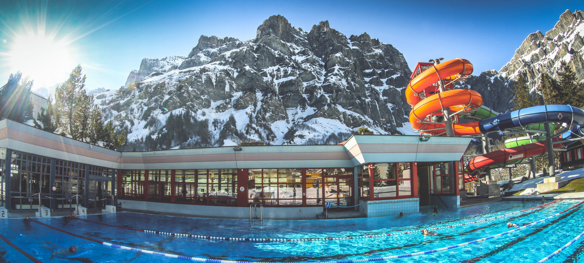 Термальный комплекс Leukerbad Therme