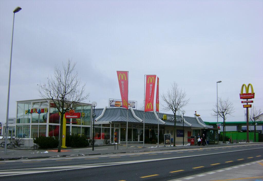 McDonald's в Цуге
