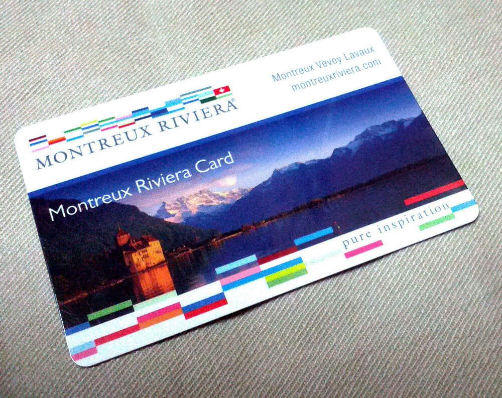 Montreux Riviera Card