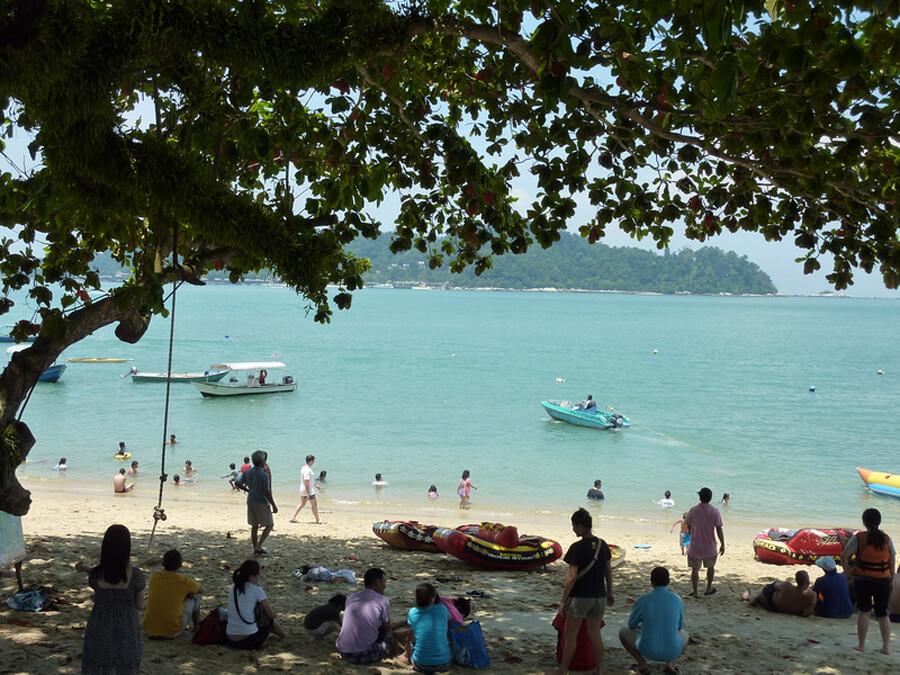 Пляж Pasir Bogak
