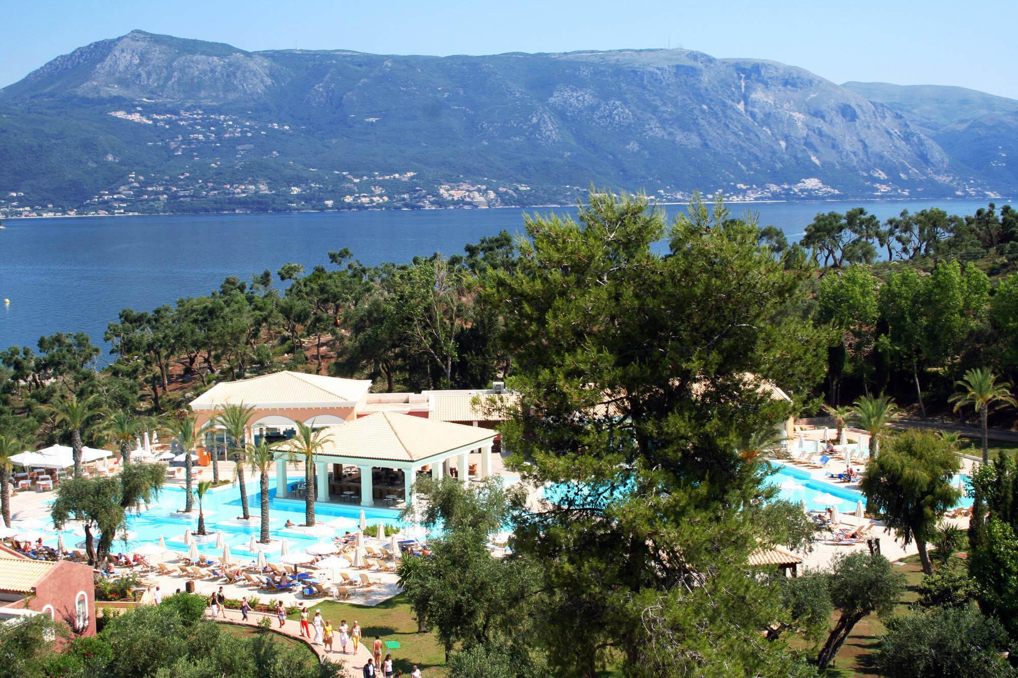 Так выглядят отели острова Корфу