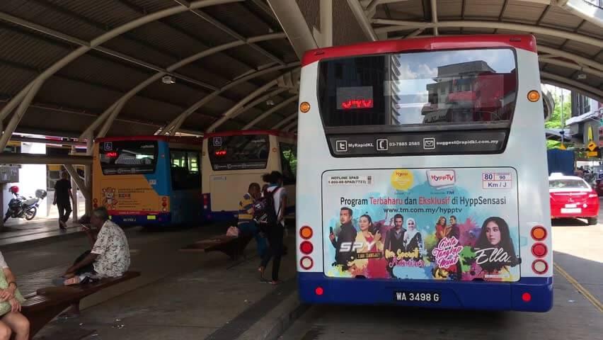 На автобусной станции Pudu Sentral