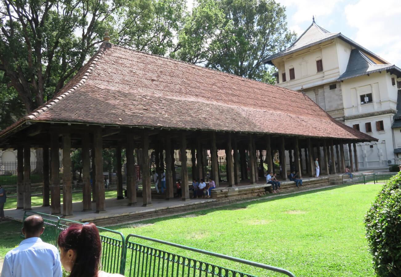 Королевский дворец в Канди