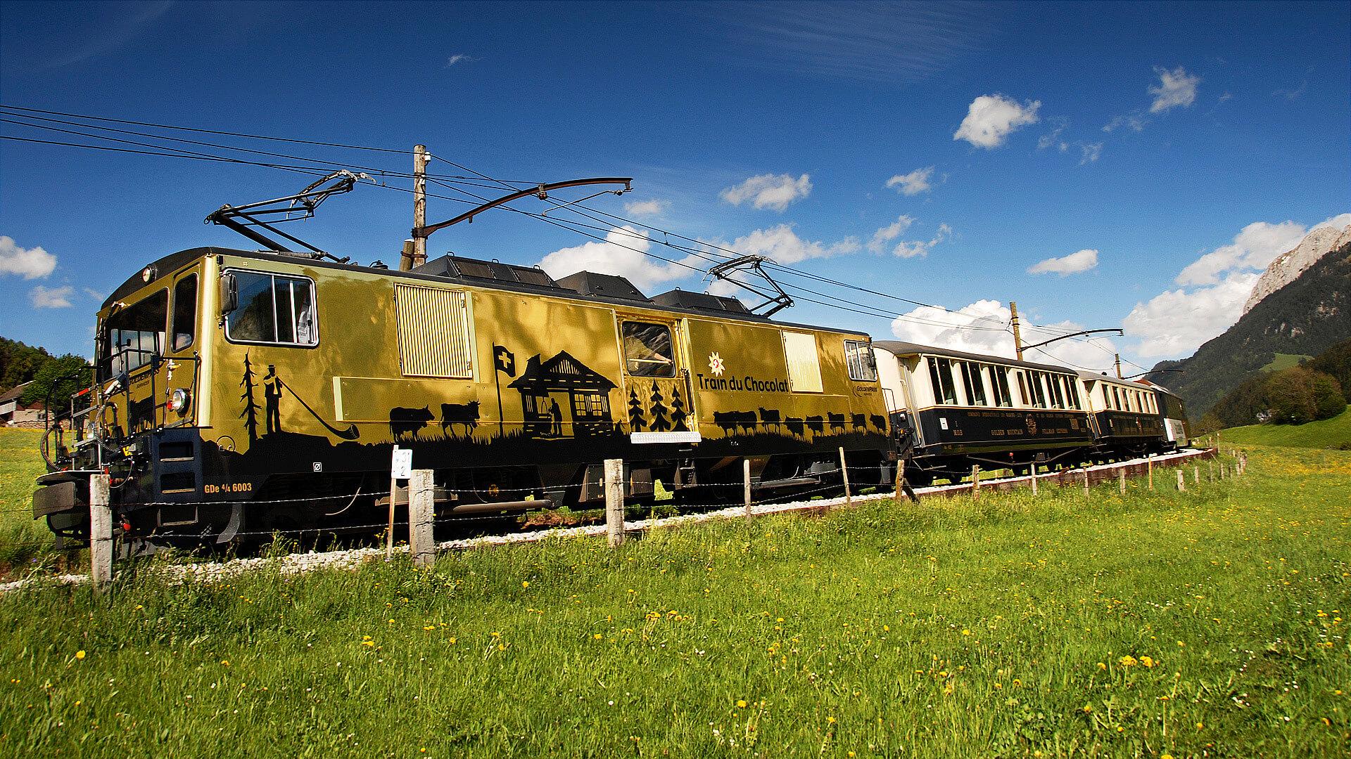 Шоколадный поезд (Swiss Chocolate Train)