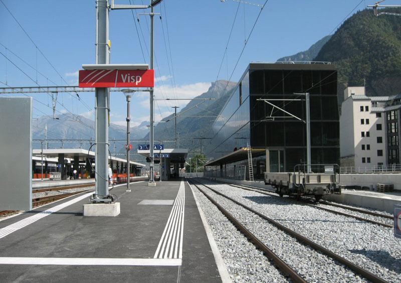 Станция Visp