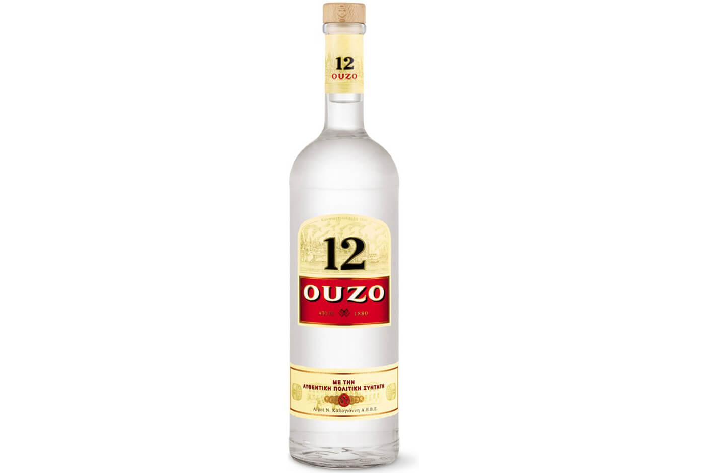 Бутылка Узо