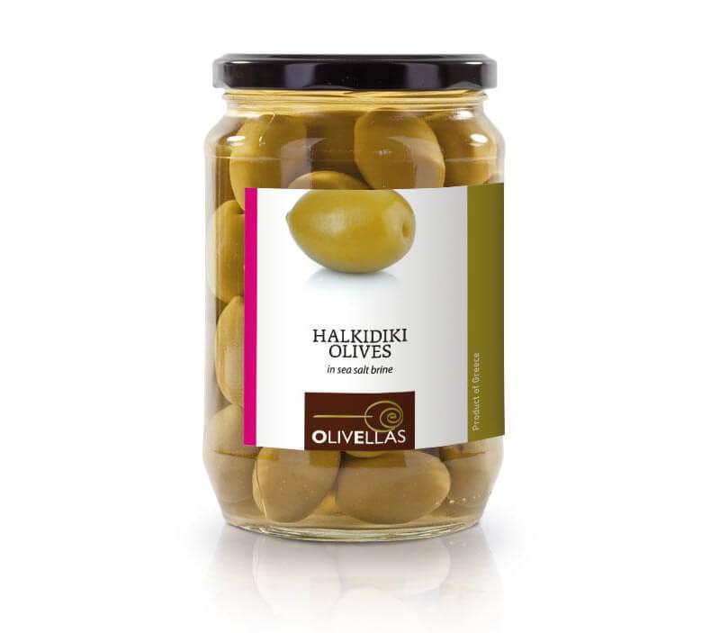 Оливки сорта Халкидики