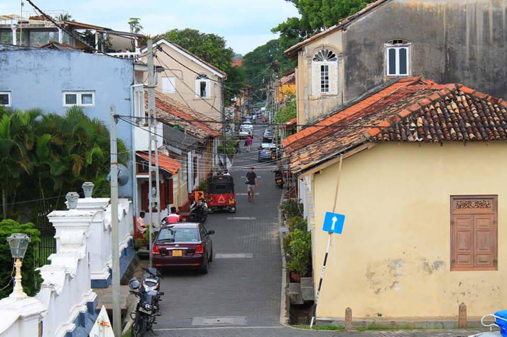 Улочки старого города Галле