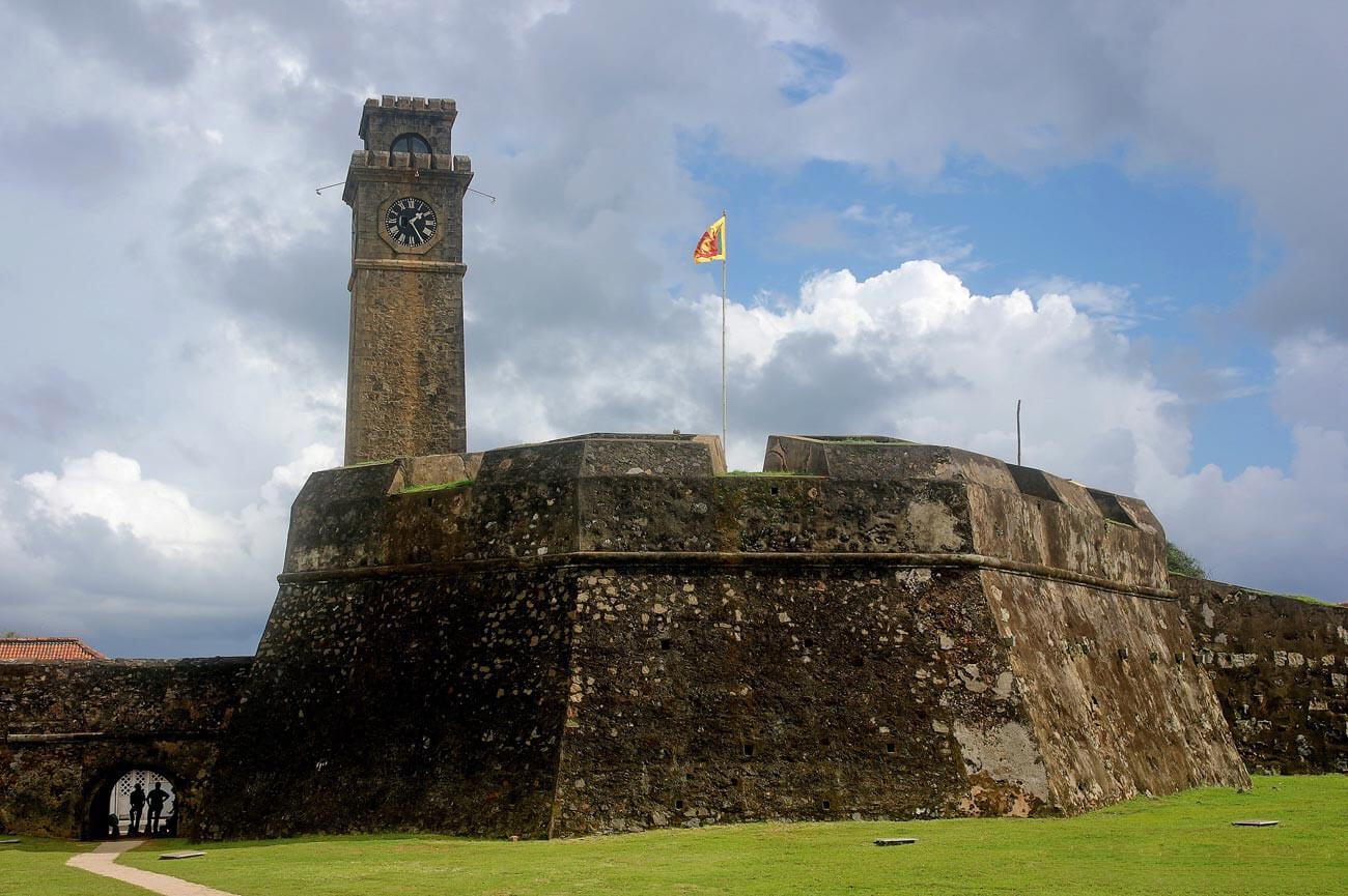 Древний форт Галле