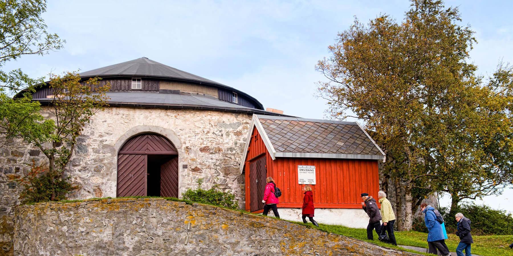 Экскурсия в древнюю крепость Island Munkholmen