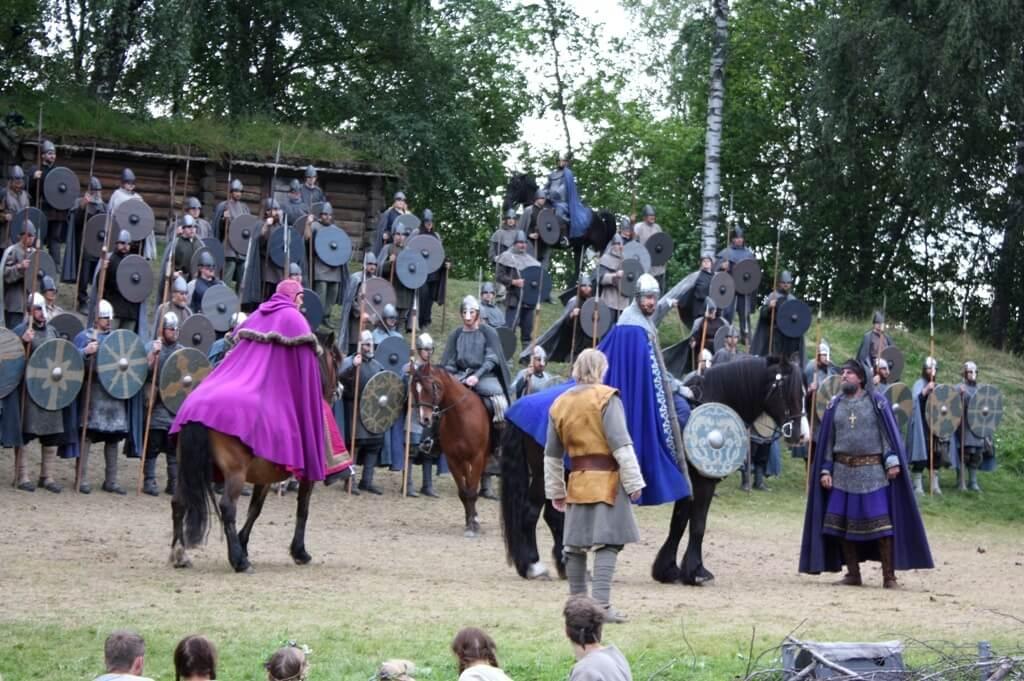 Фестиваль посвященный Святому Олафу