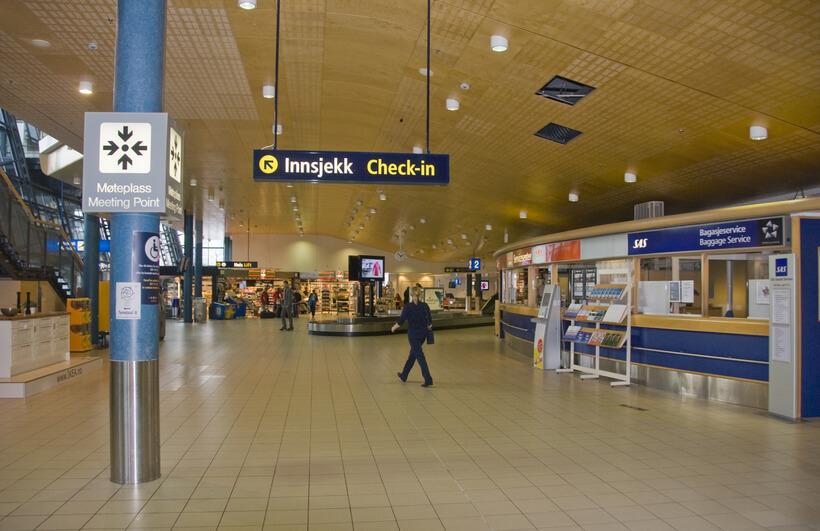 Аэропорт Тронхейм Варнес