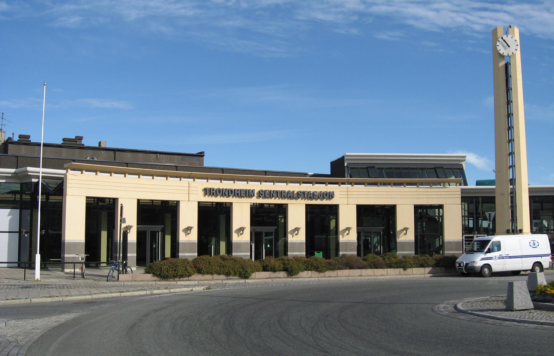 Центральный ЖД вокзал Тронхейма