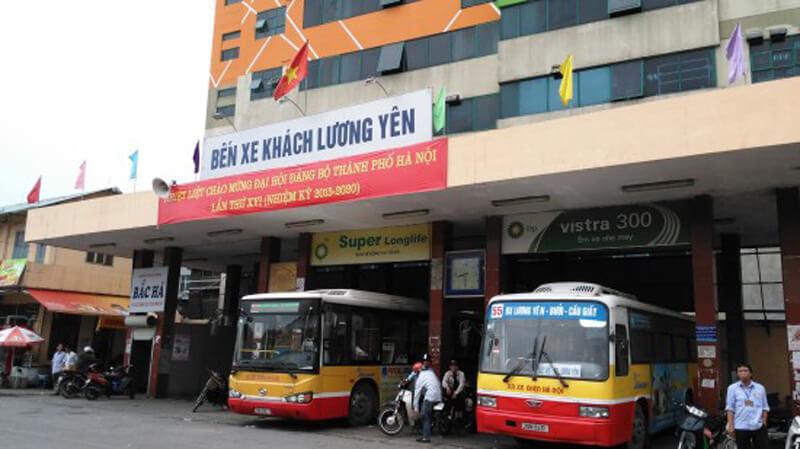 Автовокзал Ханоя Luong Yen