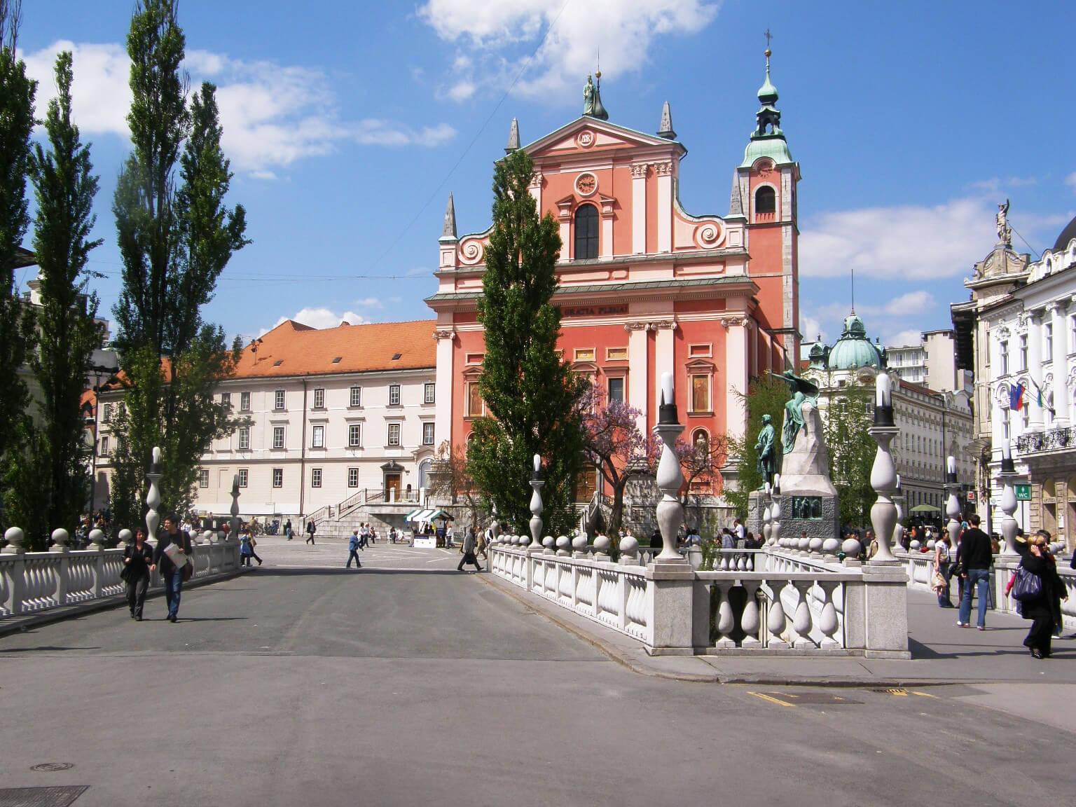 Церковь францисканцев в центре города