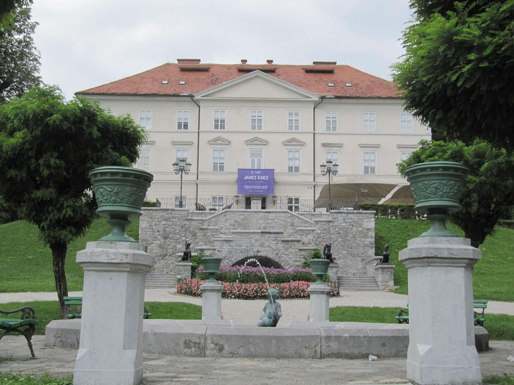Особняк Цекин, Любляна