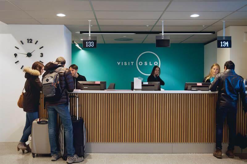 Купить карточку Oslo Pass в туристическом центре