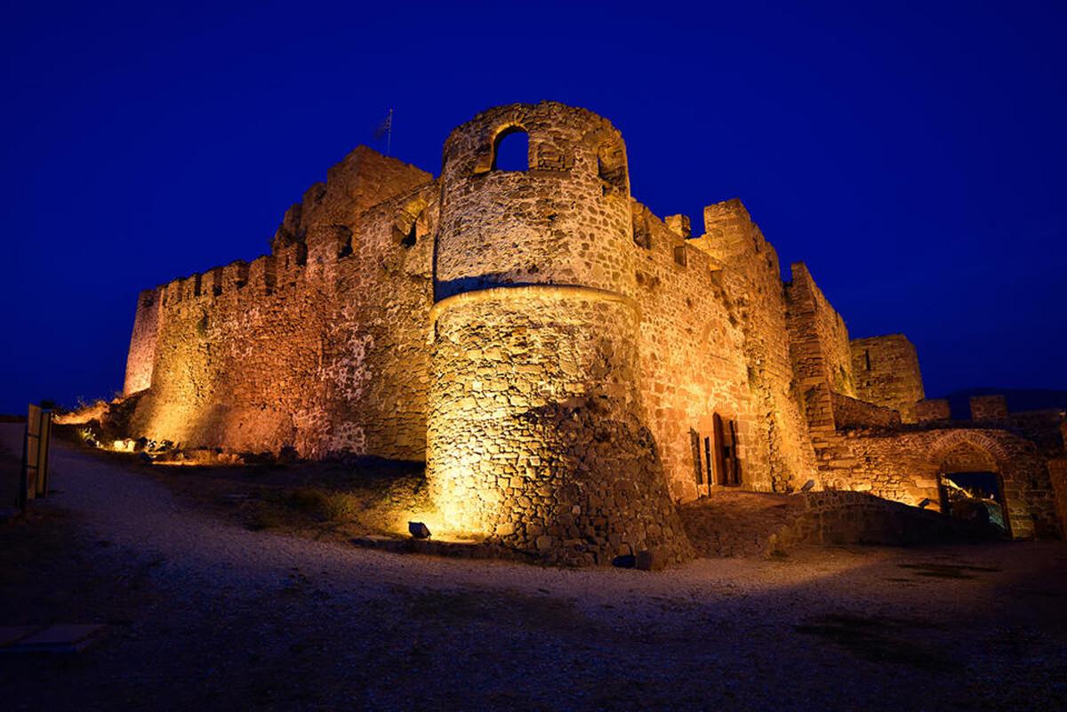 Византийская крепость, Митимна