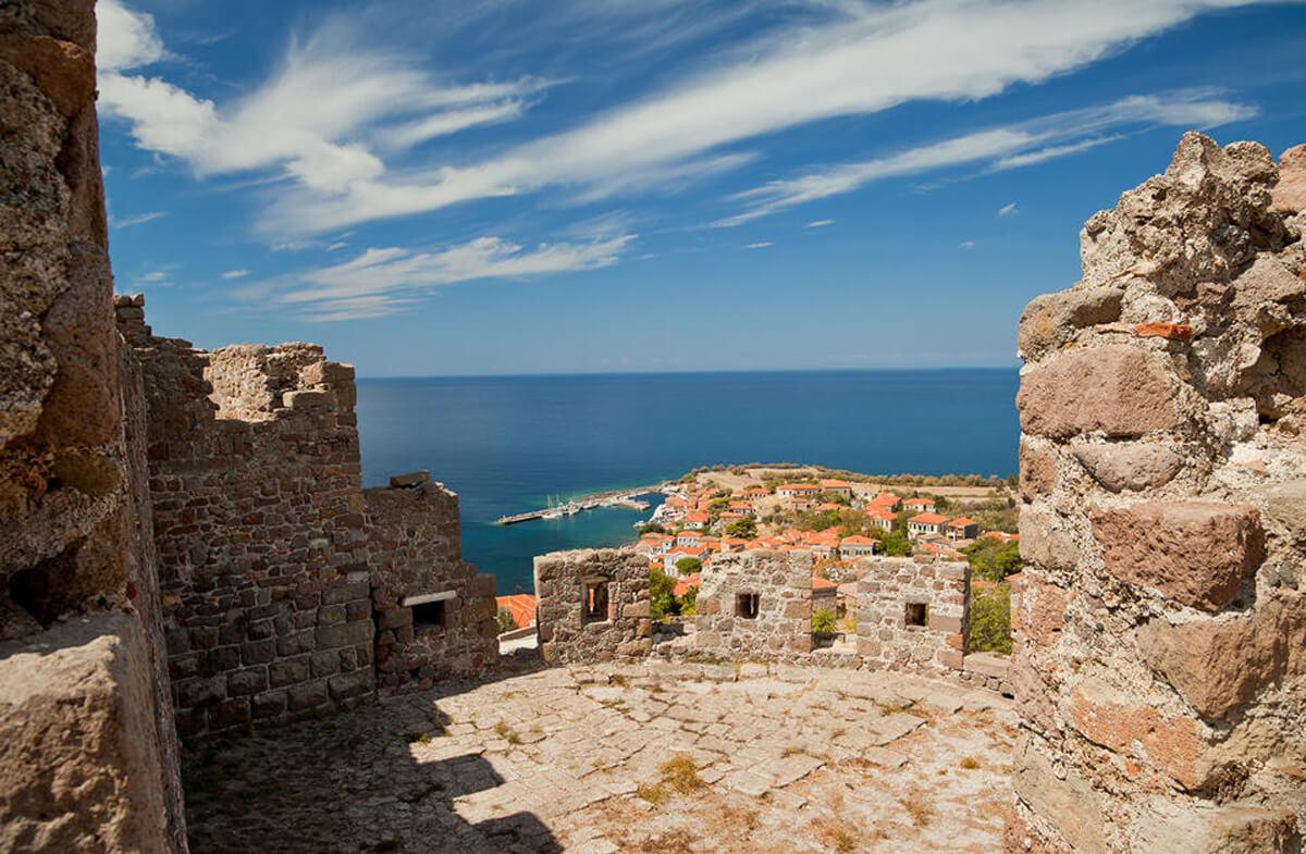 Вид с крепости Моливоса
